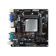 MSI N3150I ECO - Motherboard - mini ITX - Intel Celeron N3150 - USB 3.0 - Gigabit LAN - onboard graphics - HD Audio (8-channel)