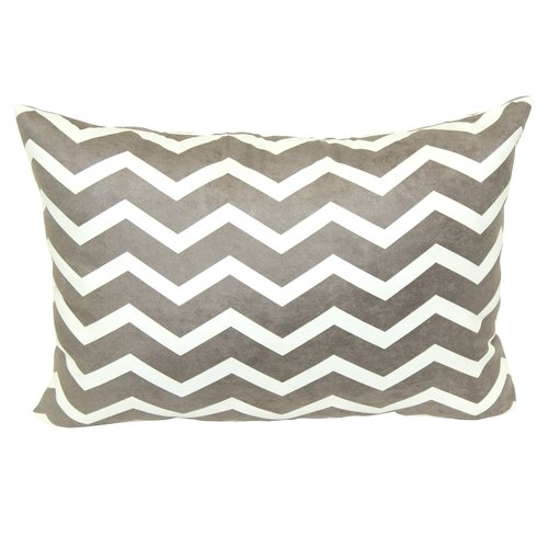 Mainstays Chevron Printed Decorative Pillow, Tan