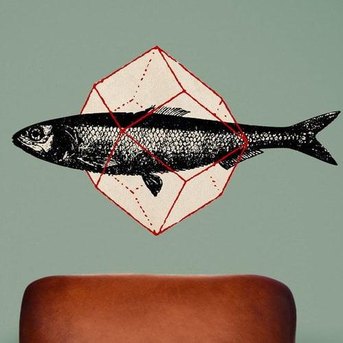 My Wonderful Walls Geometry Fish Wall Decal