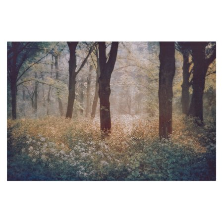 Photographic Canvas Art - Patton Wall Decor Meadow In The Forest Photography Canvas Art