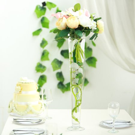 Efavormart Trumpet Glass Centerpiece Flower Vase for Wedding Party Banquet Events Centerpiece Decoration 6pcs/set](Christmas Banquet Centerpieces)