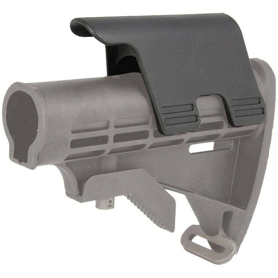 """Command Arms CP2 Cheek Rest Rifle 1.25"""" Rise, Polymer Black"""
