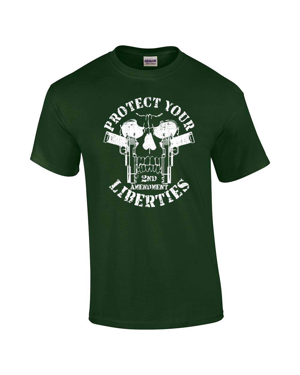2nd Amendment T-Shirt Protect Your Liberties