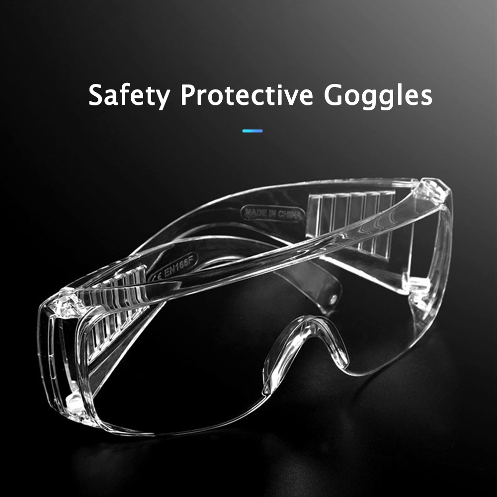 Anself Multifunctional Protective Goggles Protective Glasses Anti-splash Anti-dust Anti-wind Anti-sand Eyes Protector Safety Goggles