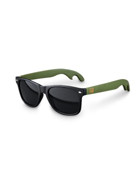 Product Image Matte Black with Olivine Lense Bottle Opener Sunglasses by F b929207b552