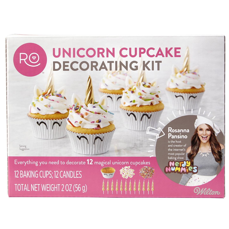 Rosanna Pansino by Wilton Unicorn Cupcake Decorating Kit