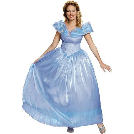 Cinderella Ultra Prestige Women's Adult Halloween Costume (Adult Cinderella Outfit)