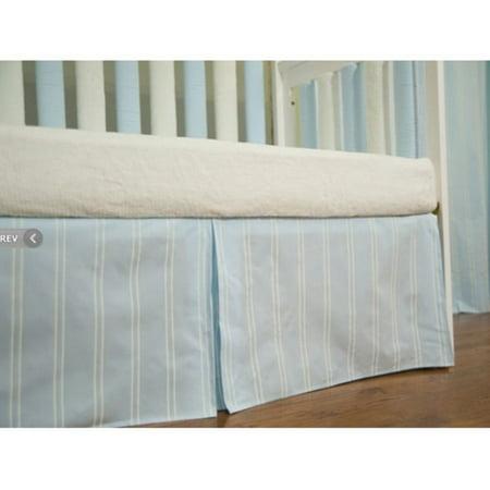 - go mama go designs blue & cream stripe cotton 16