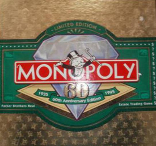 Monopoly (60th Anniversary Edition) Fair/NM