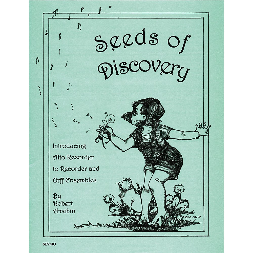 Sweet Pipes Seeds of Discovery Alto Recorder Arrangements by