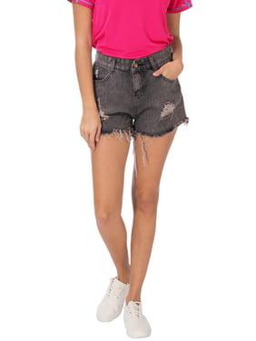 251802943f Product Image Women s Hight Waist Casual Hole Demin Short Hot Pants Jean  Shorts Summer Fashion Street Wear. Lelinta
