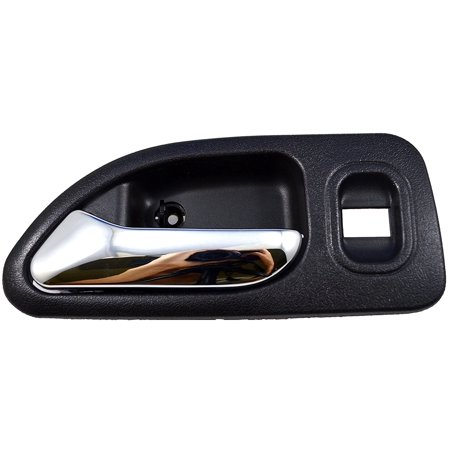HO-2579MG-RL - Inside Interior Inner Door Handle, Gray Housing with Chrome Lever - Driver Side Rear, Driver Side, Rear By PT Auto Warehouse