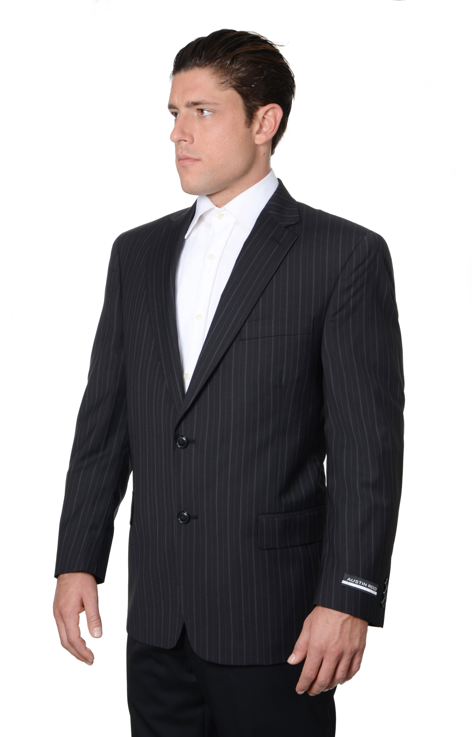 Austin Reed Mens Stripe Suit Separate Coat Suits Sport Coats Clothing