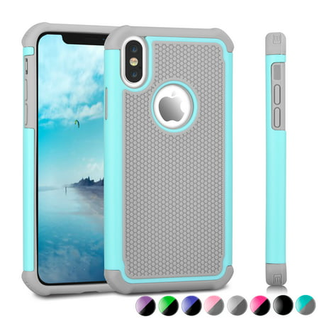 buy popular dbf44 c1748 iPhone X Case, Apple iPhone X Cute Case, iPhone X Edition Case, Njjex  iPhone 10 Case Cover Non-Slip Shock-Absorption Bumper and Anti-Scratch Slim  Case ...