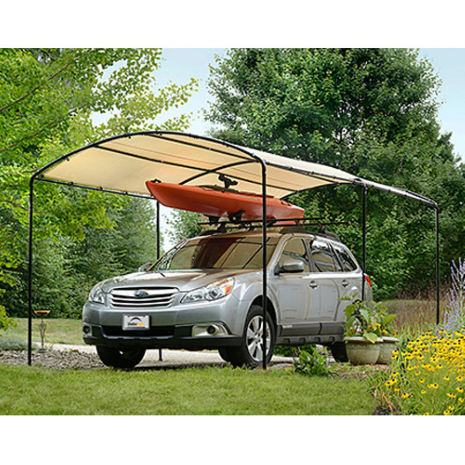 Click here to buy Monarc Canopy, 9' x 16' by ShelterLogic Corp..