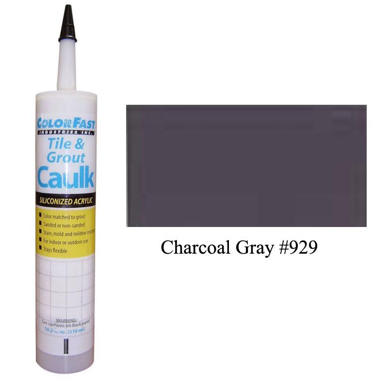 Latex Colored Caulk - TEC Color Line: Charcoal Gray Sanded