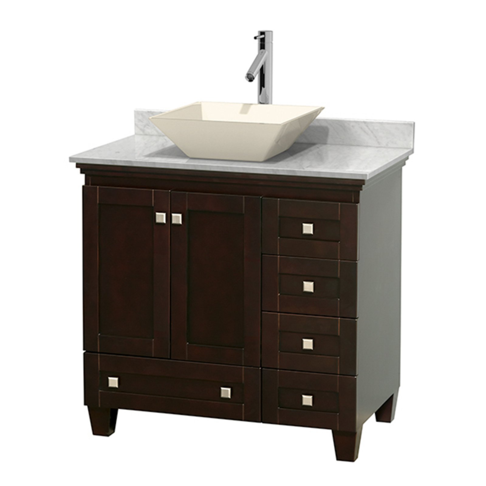 Wyndham Collection Acclaim 36 Inch Single Bathroom Vanity In