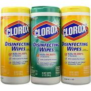 Clorox Wet Wipes Lemon Fresh & Fresh Scent - 3 CT