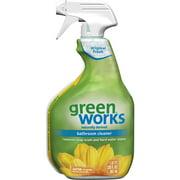 Green Works Bathroom Cleaner, Cleaning Spray - Original Fresh, 30 Ounces