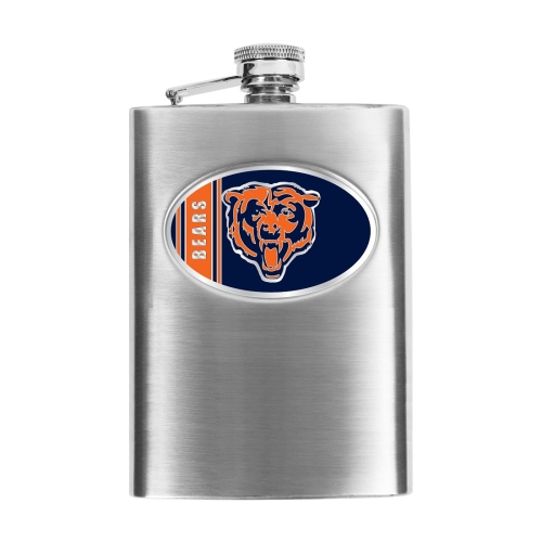 Chicago Bears Stainless Steel Flask - No Size