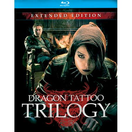 Stieg Larsson's Dragon Tattoo Trilogy (Blu-ray) (Dragon Tattoo Trilogy Extended Edition Blu Ray)