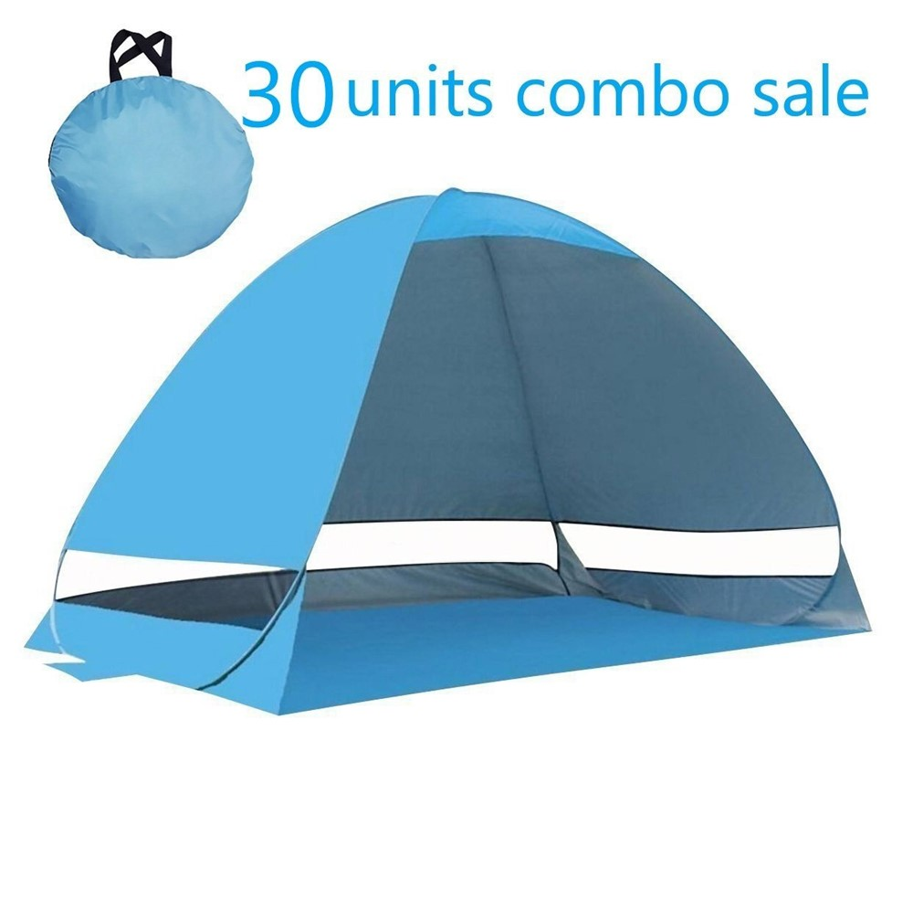 Portable Lightweight Outdoor Beach Tent,Easy up Automatic Instant Pop Up in Seconds,suitable for 2-3 persons,perfect for beach, hiking,fishing, casual camping.