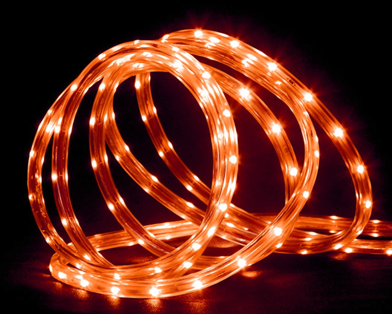 18 orange led indooroutdoor christmas rope lights 2 bulb 18 orange led indooroutdoor christmas rope lights 2 bulb spacing walmart aloadofball Choice Image