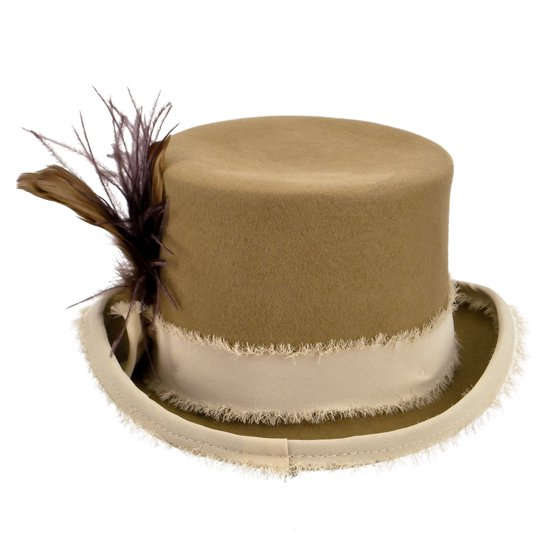 Bailey Western - Bailey Top Hat Mens Rolled Brim Feather Vivienne -  Walmart.com 79404a1f1a96