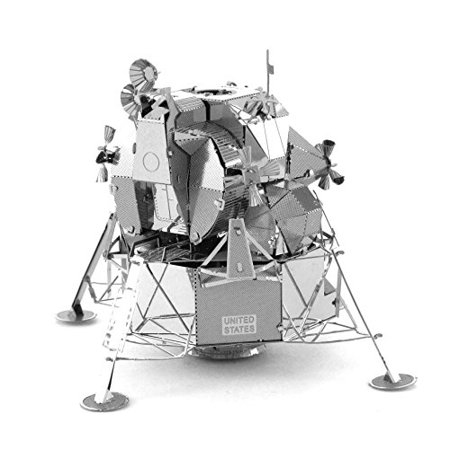Metal Earth Apollo Lunar Module 3D Metal Model Kitassembled Size 2 35X2 35X2 15 Inches By Fascinations