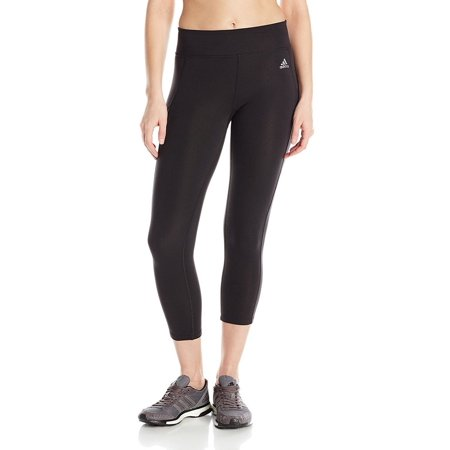 Adidas Women's Clima Studio Mid Rise Active 3/4 Tights Pants AJ1066
