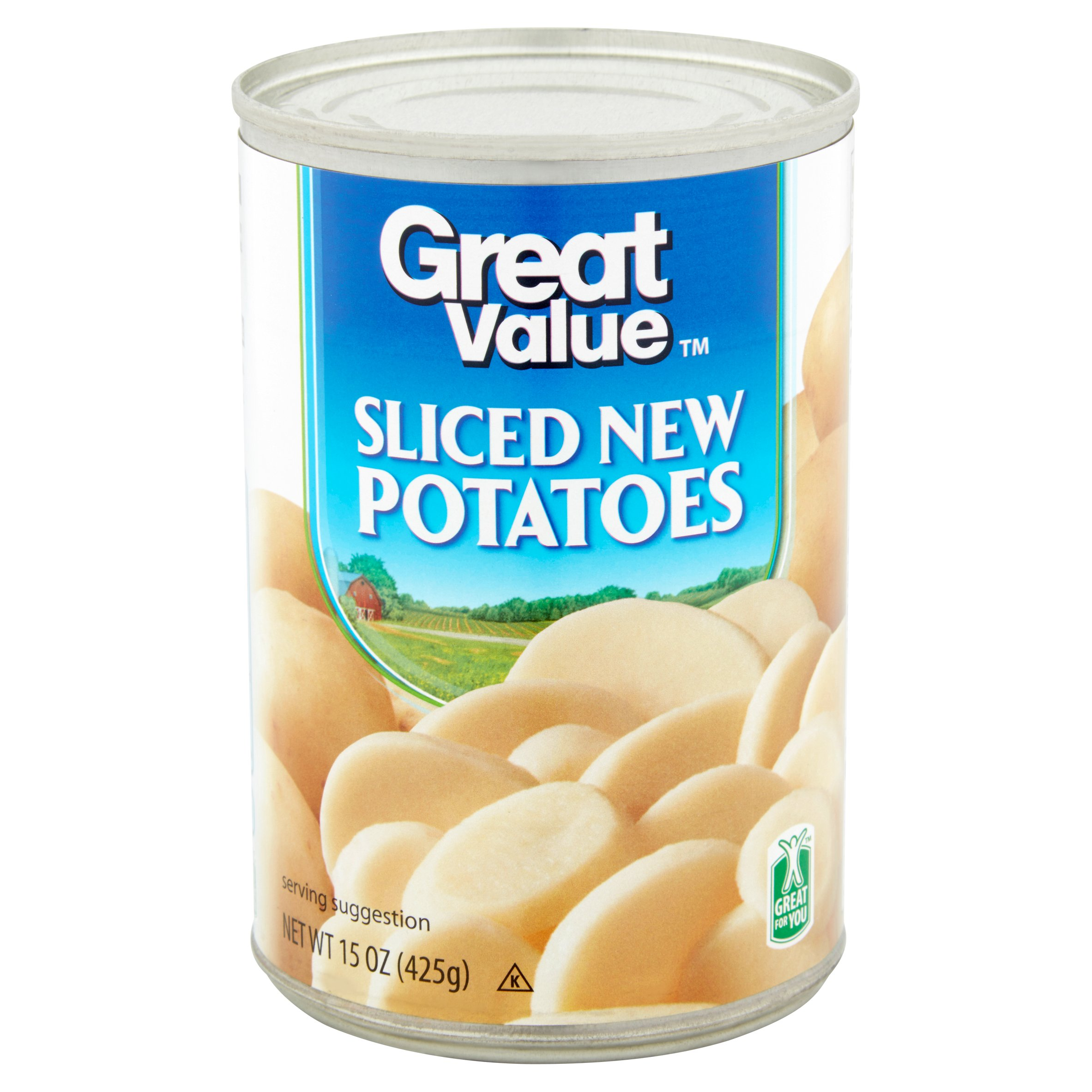 Great Value Sliced Potatoes, 15 Oz
