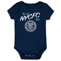New York City FC Newborn & Infant My New First Bodysuit - Navy