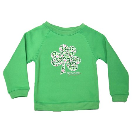 Shamrock Kids Sweatshirt (Apple Green Shamrock Kids)