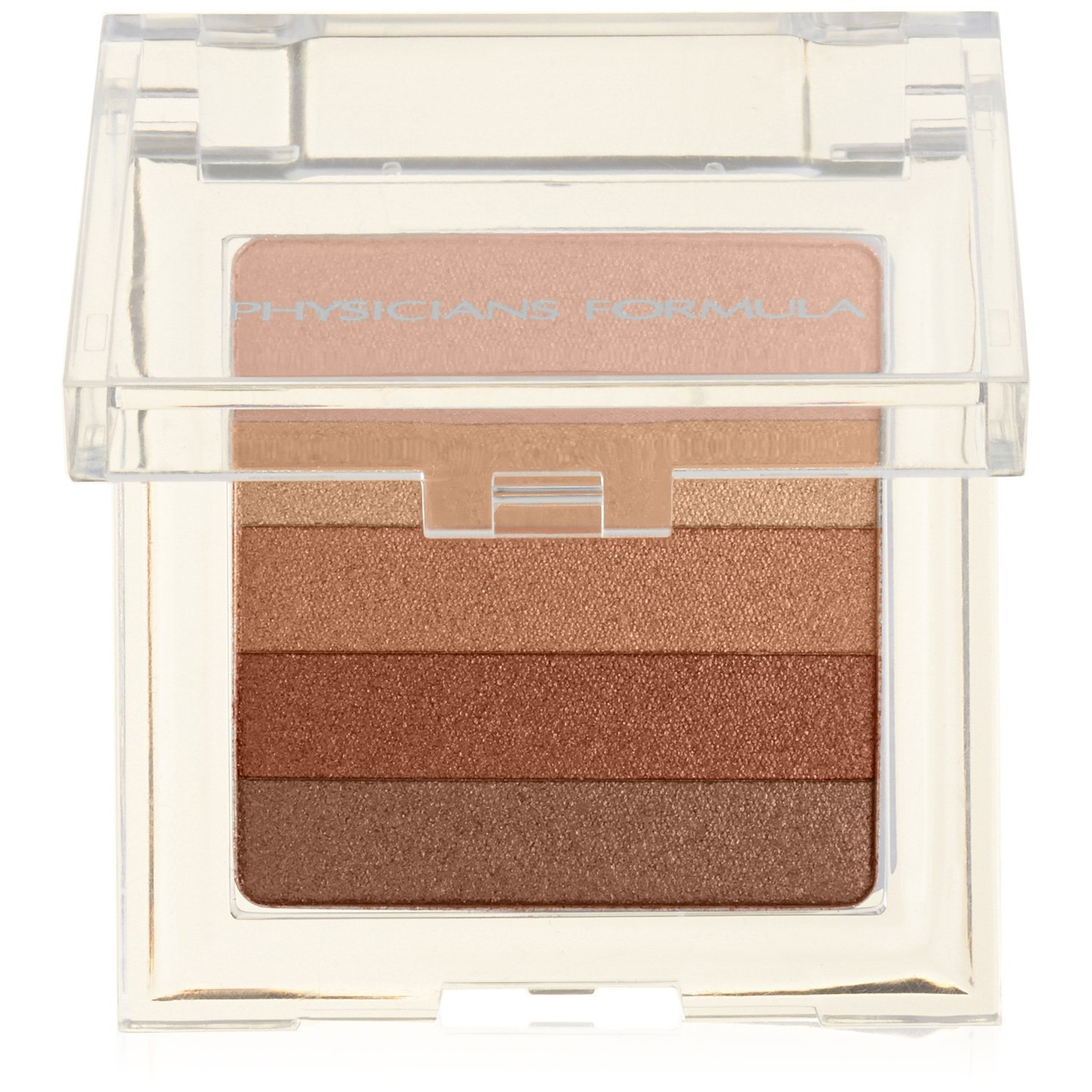 Physicians Formula Shimmer Strips Custom Bronzer, Blush and Eye Shadow, Waikiki Strip Peach Glow 2745