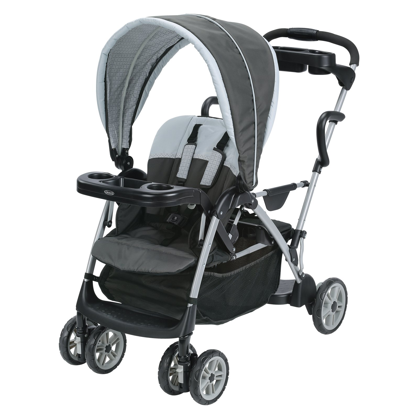 Graco RoomFor2 Click Connect Stand and Ride Double Stroll...