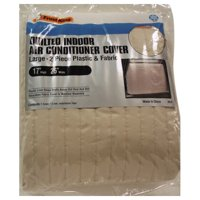 2-piece Quilted Indoor Air Conditioner Cover
