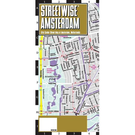 Streetwise amsterdam map laminated city center street map of streetwise amsterdam map laminated city center street map of amsterdam netherlands publicscrutiny Images