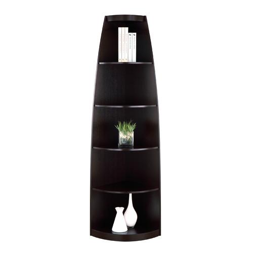 Hokku Designs Telmore Corner Unit Bookcase by Enitial Lab