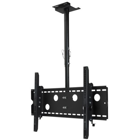 "Dayton Audio Shadow Mount LCDCM60 Single TV Ceiling Mount with Tilt 32""-60"""