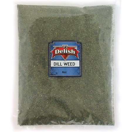 Dill Weed 100% Natural by Its Delish, 8 oz (Half Pound) Bag