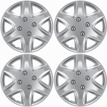"15"" inch Chrome Wheel Covers for 2004-2008 Chevrolet Malibu - Set of 4"