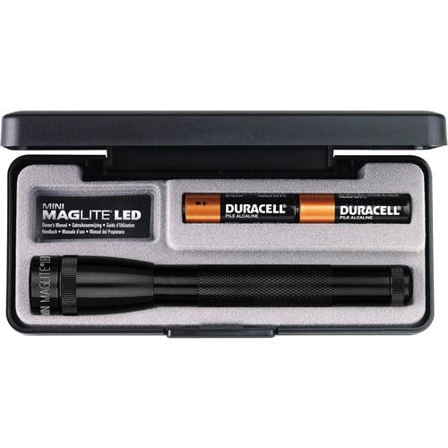 MagLite LED MM 2-Cell AA Flashlight Presentation Box, Black by Maglite