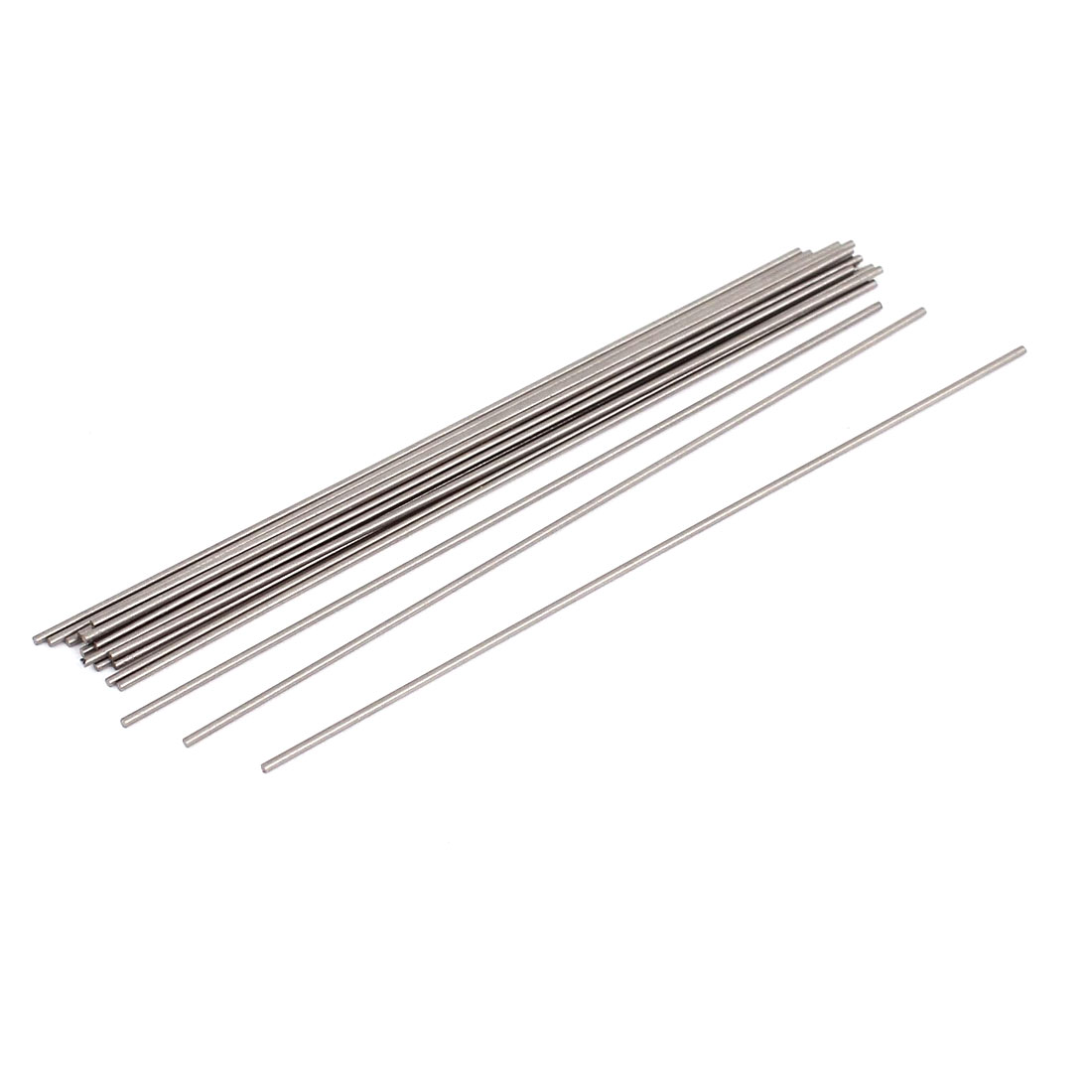 20 Pcs Steel Round Stock Lathe Turning Tool Bars 1mm Diameter 100mm Long by