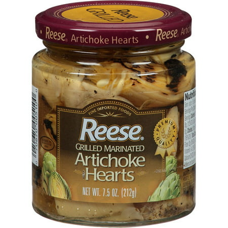 Reese Grilled Marinated Artichoke Hearts, 7.5 oz, (Pack of 12 ...