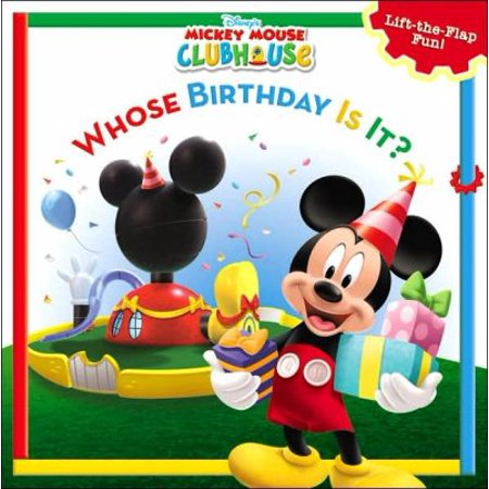 Birthday Mickey Mouse (Whose Birthday Is It? (Disney's Mickey Mouse)