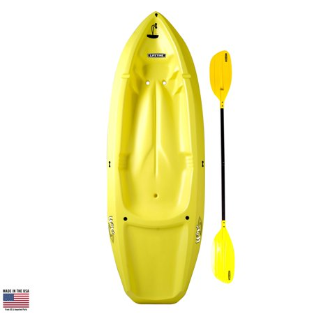 Lifetime Wave 60 Youth Kayak (Paddle Included), Yellow, 90100