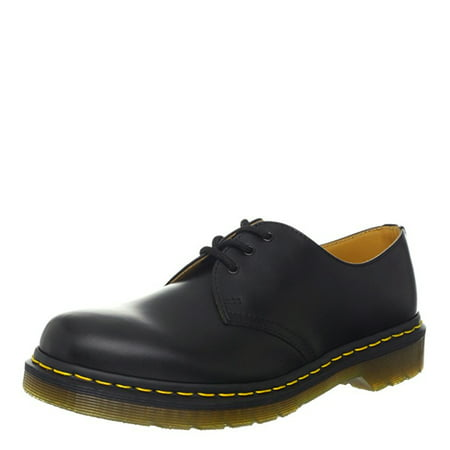 dr. martens 1461 3-eye smooth oxfords 11838600 cherry red](dr martens black and white wingtip shoes)