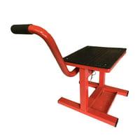 Zimtown 330LBS Adjustable Lift Stand Motorcycle MotoBike Stand Steel Lift Jack Stand