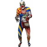 Monster Collection Adult Creepy Clown Morphsuit Men's Adult Halloween Costume
