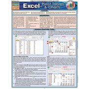 BarCharts 9781423216438 Excel - Pivot Tables & Charts Quickstudy Easel